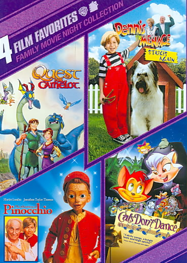 4 FILM FAVORITES:FAMILY MOVIE NIGHT BY RICKLES,DON (DVD)